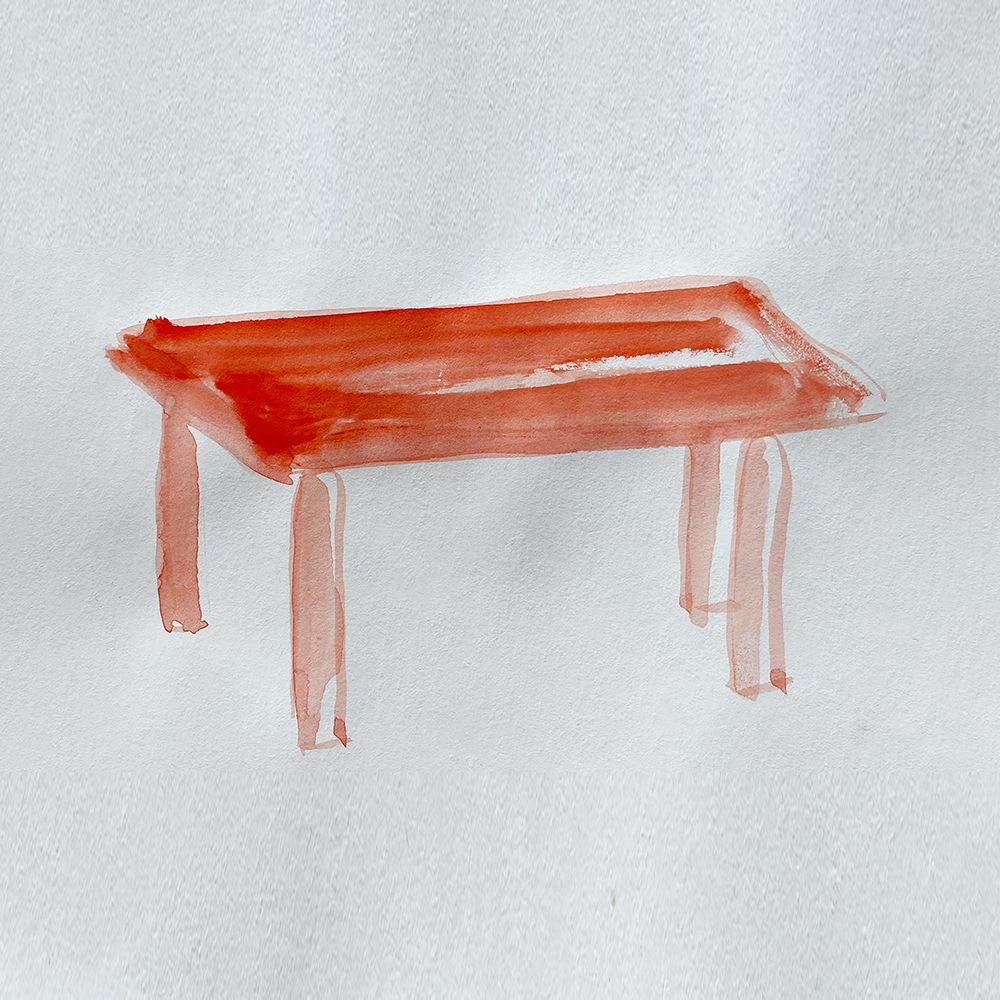 table aquarelle